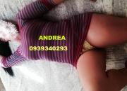Andrea la perfecta compañia para un momento salvaje amor llamame 0939340293
